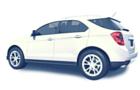 White SUV Car